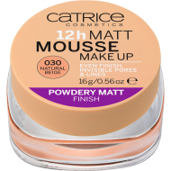 Мусс матирующий CATRICE 12h Matt Mousse Make up 030 Natural Beige: фото