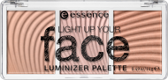Палетка люминайзеров Light up your fase luminizer palette Essence 10 ready, set, glow!: фото