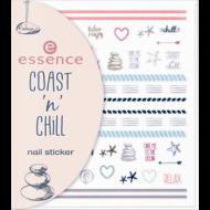 Наклейки для ногтей Essence Coast n chill 01: фото