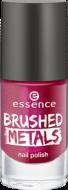 Лак для ногтей Вrushed metals nail polish Essence 04 ярко-розовый металик: фото