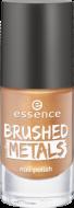 Лак для ногтей Вrushed metals nail polish Essence 03 золотой