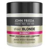 Маска для восстановления сильно поврежденных волос John Frieda Sheer Blonde HI-IMPACT 150 мл: фото