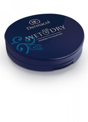 Пудровое тональное средство Dermacol Wet & Dry Powder Foundation светлый бежевый: фото