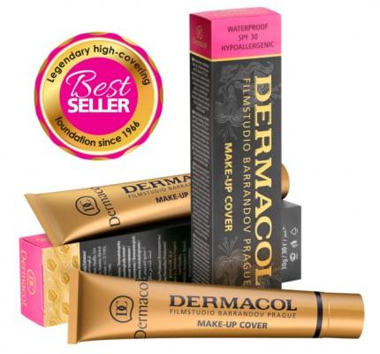 Тональный крем Dermacol make-up cover 213: фото