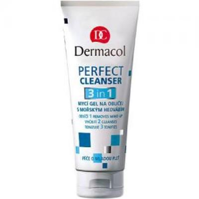 Гель для умывания Dermacol Perfect cleanser 3 in 1: фото
