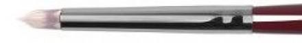 Кисть купольная для мелких деталей точечного нанесения корректоров, контура губ Roubloff vk04: фото