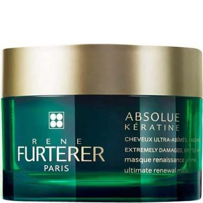Маска интенсивно-восстанавливающая для сильно поврежденных, ломких волос Rene Furterer Absolue Keratine 200 мл: фото