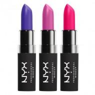 Набор помад NYX Professional Makeup VELVET MATTE LIPSTICK - SET 03: фото