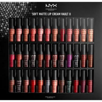 Набор помад NYX Professional Makeup Soft Matte Lip Cream Vault - Set 02 02: фото