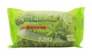 Мыло-скраб с зеленым чаем JUNO Sangtumeori peeling soap green tea 150 мл: фото
