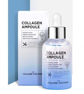 Сыворотка для лица с коллагеном VILLAGE 11 FACTORY Collagen Ampoule: фото