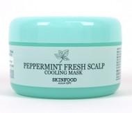Маска для волос охлаждающая с мятой SKINFOOD Peppermint Fresh Scalp Cooling Mask: фото