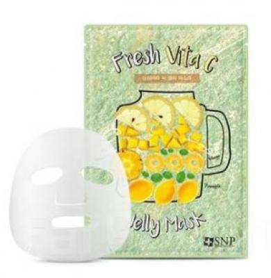 Маска для лица SNP Fresh vita С jelly mask 25 мл: фото