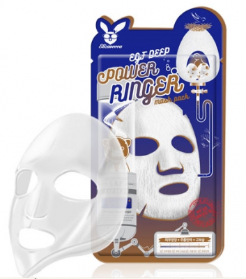 Маска тканевая с EGF ELIZAVECCA EGF deep power ringer mask pack 23 мл.: фото