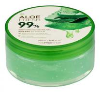 Гель для лица и тела с алоэ THE FACE SHOP Jeju aloe fresh soothing gel 300 мл: фото