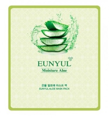 Тканевая маска с алоэ EUNYUL Aloe mask pack 30мл: фото