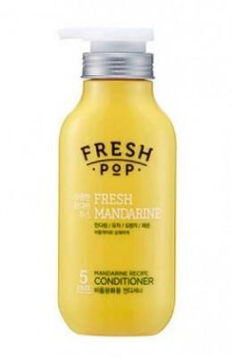 Кондиционер для поврежденных волос с мандарином FRESH POP Fresh mandarin recipe conditioner 500 мл: фото