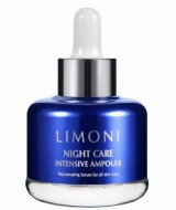 Сыворотка для лица ночная восстанавливающая LIMONI Night Care Intensive Ampoule 30 мл: фото