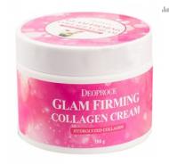 Крем увлажняющий подтягивающий с коллагеном DEOPROCE Moisture glam firming collagen cream 100г: фото
