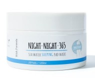 Высококонцентрированные диски для лица WISH FORMULA Night Night 365 Sea Water Sleeping Pad Mask 26шт: фото