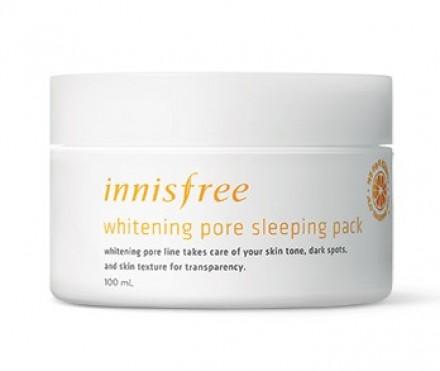 Маска ночная обновляющая с витамином С INNISFREE Whitening Pore Sleeping Pack: фото