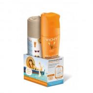 Увлажняющий спрей активатор для тела SPF50 VICHY 200мл+ Пляжная сумка в подарок: фото