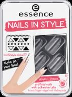 Накладные ногти на клейкой основе ЕSSENCE nails in style с наклейками 04: фото