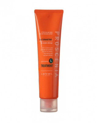Маска по уходу за волнистыми волосами Lebel PROSCENIA TREATMENT L 240 мл: фото