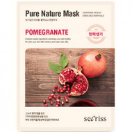 Маска для лица тканевая Anskin Secriss Pure Nature Mask Pack-Pomeganate 25мл: фото