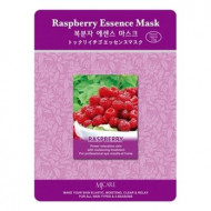 Маска тканевая малина Mijin Raspberry Essence Mask 23гр: фото