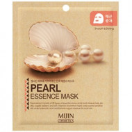Маска для лица тканевая жемчуг Mijin PEARL ESSENCE MASK 25гр: фото