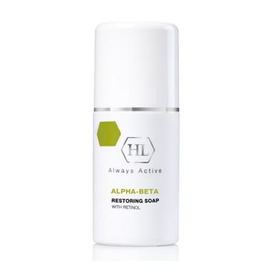 Мыло восстанавливающее с ретинолом Holy Land Alpha-Beta & Retinol Restoring Soap 125 мл: фото