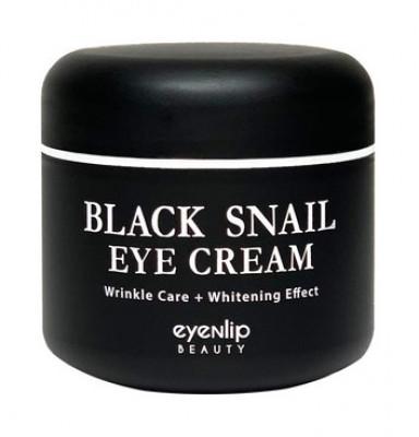 Крем для кожи вокруг глаз многофункциональный Eyenlip BLACK SNAIL EYE CREAM 50мл: фото