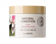 Крем очищающий лотос THE SAEM NATURAL CONDITION Lotus Cleansing Cream (N2) 300мл: фото