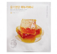 Маска для лица гидрогелевая NATURE REPUBLIC REAL NATURE MANUKA HONEY HYDROGEL MASK 22г: фото