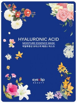 Маска для лица тканевая Eyenlip HYALURONIC ACID MOISTURE ESSENCE MASK 25мл: фото