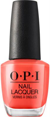 Лак для ногтей OPI CLASSIC NLF81 Living On The Bula-Vard! 15 мл: фото