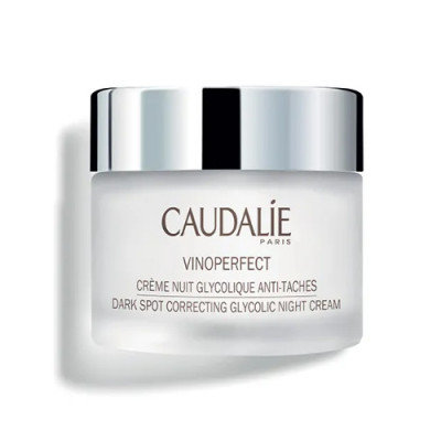 Ночной крем для сияния кожи с гликолевой кислотой Caudalie Виноперфект 50 мл: фото