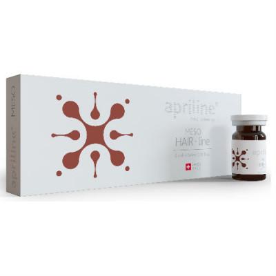 Интенсивная формула для предотвращения выпадения волос Perfectha Derm Apriline Meso HairLine 5мл: фото