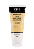 Отзывы Сыворотка несмываемая для волос с протеинами шелка ESTHETIC HOUSE CP-1 Premium Silk Ampoule, 150 мл