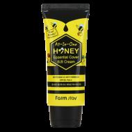 ВВ крем с экстрактом меда FarmStay All-In-One Honey Essential Cover B.B Cream SPF 30/PA++ 50г: фото