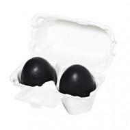 Мыло-маска с древесным углем Holika Holika Charcoal Egg Soap 50 г*2: фото