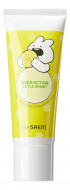 Гель для лица успокаивающий THE SAEM Over Action Rabbit Ice Lemon Soothing Gel For Face 100мл: фото