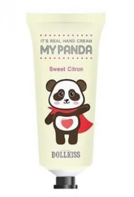Крем для рук Цитрон Baviphat Urban Dollkiss It's Real My Panda Hand Cream #03 SWEET CITRON 30г: фото