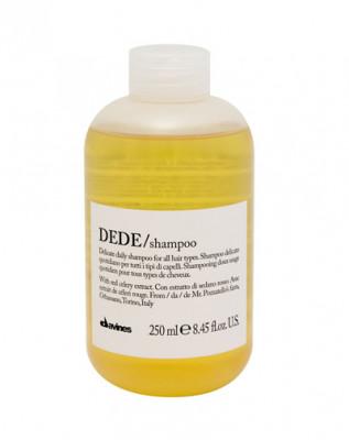 Шампунь для деликатного очищения волос Davines DEDE shampoo 250 мл: фото