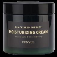 Антивозрастной крем для лица с комплексом фруктовых семян и аденозином EUNYUL BLACK SEED THERAPY MOISTURIZING CREAM, 270g: фото