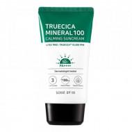 Крем солнцезащитный SOME BY MI TRUECICA MINERAL 100 Calming Suncream SPF50 PA++++ 50мл: фото