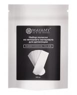 Набор полосок из нетканого материала для депиляции MAYAMY 2,5см*7 100шт: фото