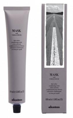 Краска для волос Davines Mask with Vibrachrom 1 Черный 100мл: фото