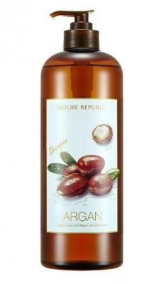 Шампунь для волос с арганой NATURE REPUBLIC ARGAN ESSENTIAL DEEP CARE SHAMPOO 1000мл: фото